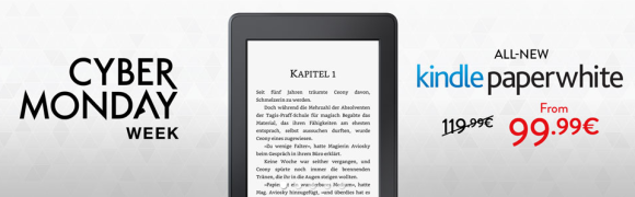 Amazonde cyber monday kindle