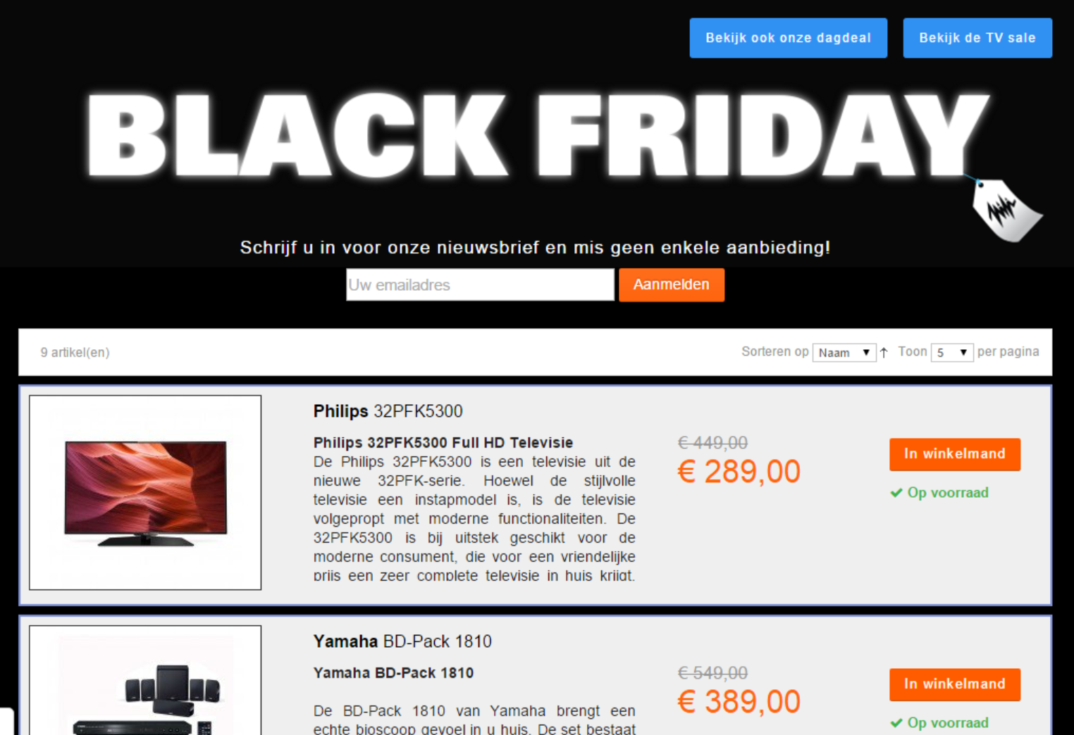 Black friday deals bhs