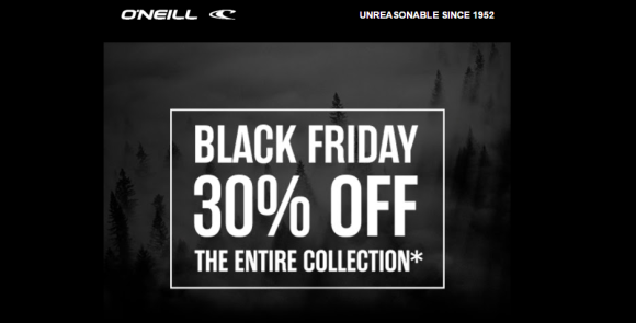 Black friday sale oneill