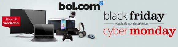 Bol.com black Friday en Cyber Monday aanbieding