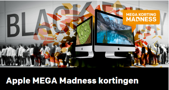 Central Point Black Friday Mega korting Madness
