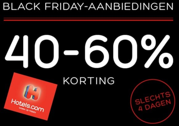 Hotels.com Black Friday Aanbeidingen