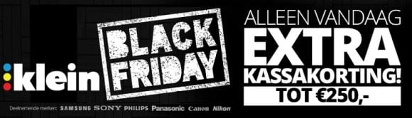 KLEIN Black Friday aanbiedingen 2015