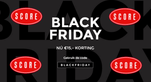 Score jeans Black Friday korting code