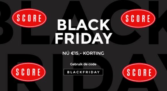 Score jeans Black Friday korting code