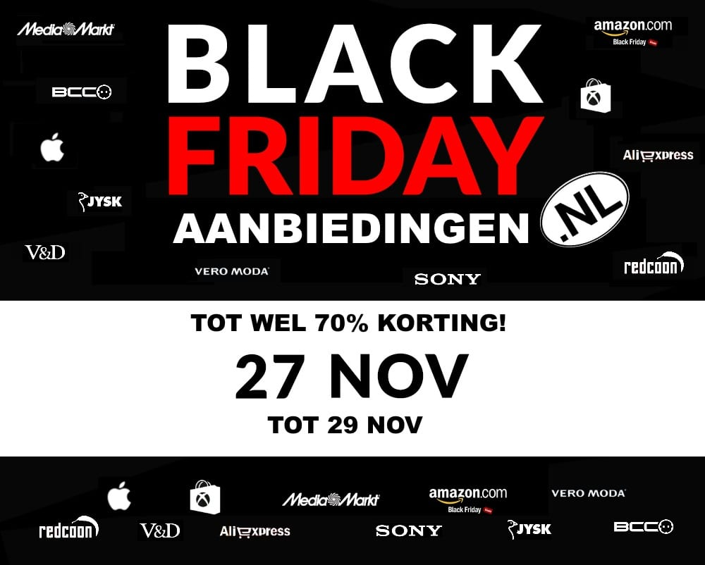 black friday aanbieding logo