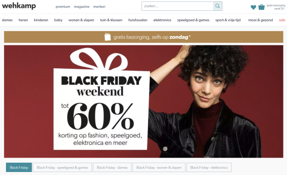 86a783e17c6 Wehkamp tot 60% korting » Black Friday & Cyber Monday Acties Nederland